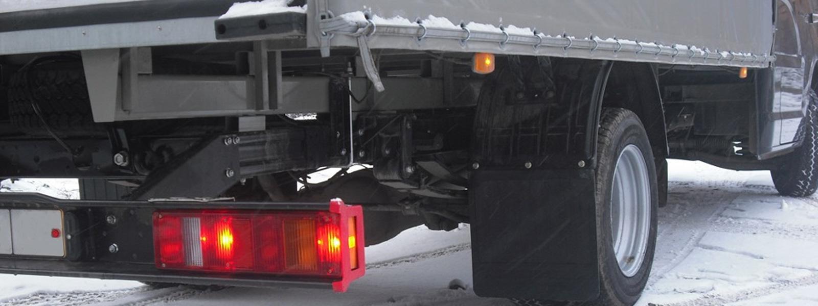 брызговики для грузовиков и полуприцепов